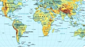 Как определить географическое положение материка