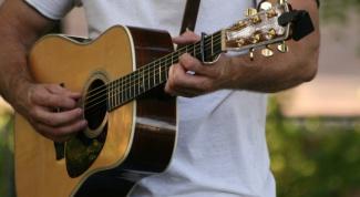 Как прикрепить ремень для гитары