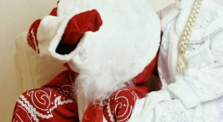 Как сделать костюм Деда Мороза