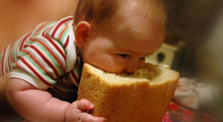 How to give a child bread
