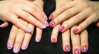 Как сделать рисунки на коротких ногтях