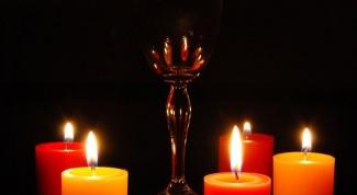 Как расставить свечи
