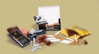 How to tighten the cigarette