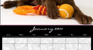 How to make wall calendar