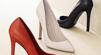 Как сделать туфли по размеру