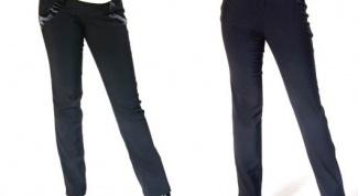 Как растянуть брюки