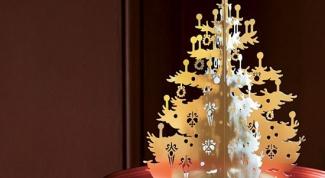 Как сделать елку из подручного материала
