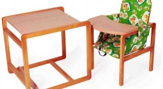 Как сделать мебель для детей