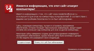 Почему блокируется сайт