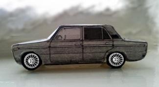 Как сделать макет автомобиля
