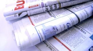 Как написать школьную газету