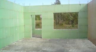 Как построить дом из опалубки