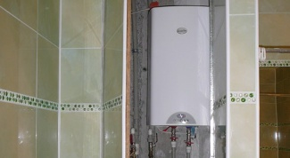 How to hide water heater