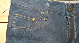 Как вшить молнию в джинсы