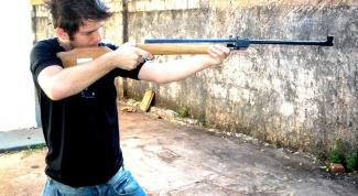 Как нарисовать ружье