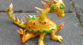 Как сделать игрушку в виде дракона из бумаги