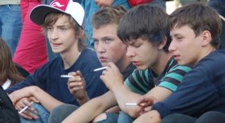 Как доказать подростку вред сигарет?