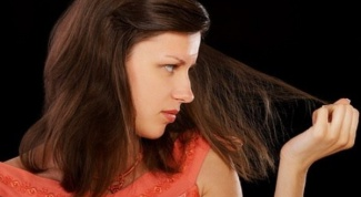 Как вылечить сухие кончики волос