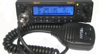 How to set the antenna on the radio