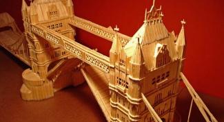 Как построить башню из спичек