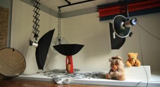 Как фотографировать детей в студии