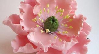 Как сделать заколку в виде цветка