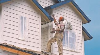 Как наносить фасадную краску