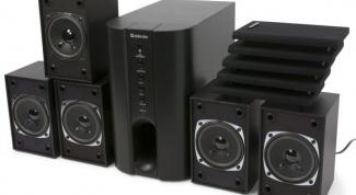 Как подсоединить акустическую систему