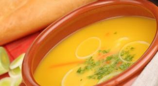 Как приготовить постный гороховый суп