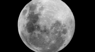 Why the moon shines at night