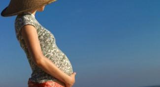 Почему нельзя загорать беременным
