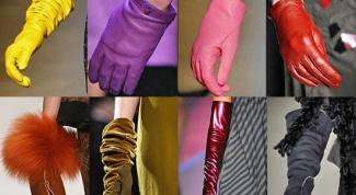 Как ухаживать за женскими перчатками