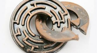 Как собрать головоломку кольцо