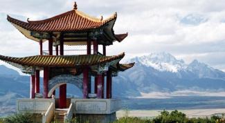 Как построить китайские крыши