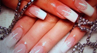 Как накладывать накладные ногти