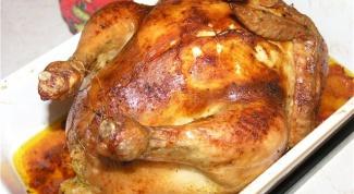 Как приготовить курицу на Рождество
