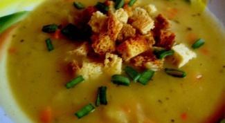 Как варить суп с картошкой