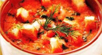 Как готовить суп с креветками