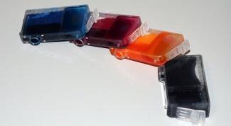 Как менять тонер струйного принтера