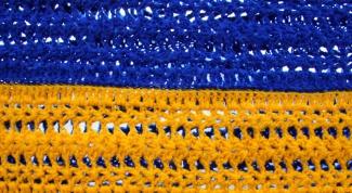 Как менять цвет ниток при вязании