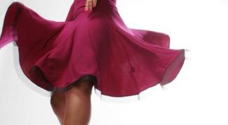Как сшить юбку для латины