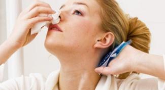 Как лечить носовое кровотечение