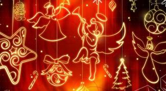 Как поздравить крестных с Рождеством