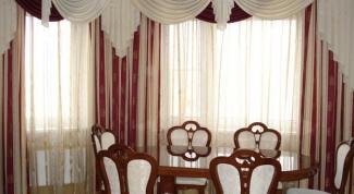 Как оформить салон по пошиву штор