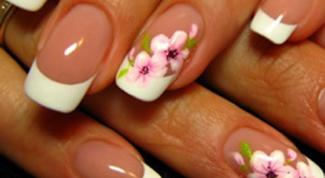 Как нарисовать дизайн на ногтях