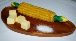 How to boil frozen corn