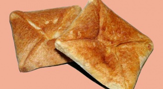 How to cook khachapuri puff pastry