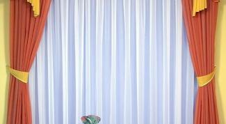 Как нарисовать шторы