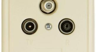 Как подключить tv розетку