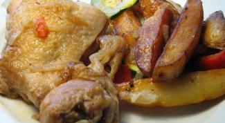 Как приготовить курицу в казане